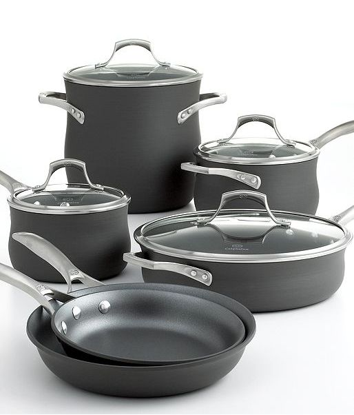 Kitchen Essentials From Calphalon: Calphalon Unison Nonstick Cookware Set Available At Macy's