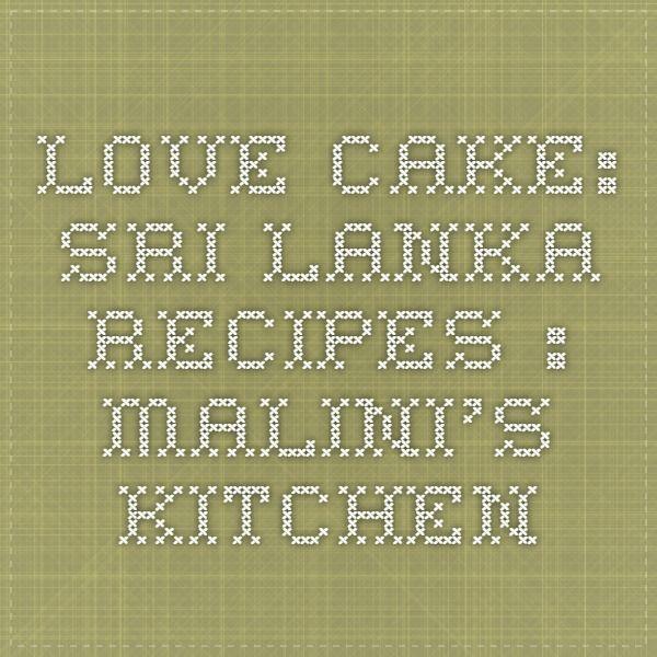 Love Cake Recipe Malini S Kitchen
