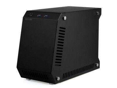 JUAL ID-COOLING T60-SFX ITX Aluminium Case BLACK - BerlianCom