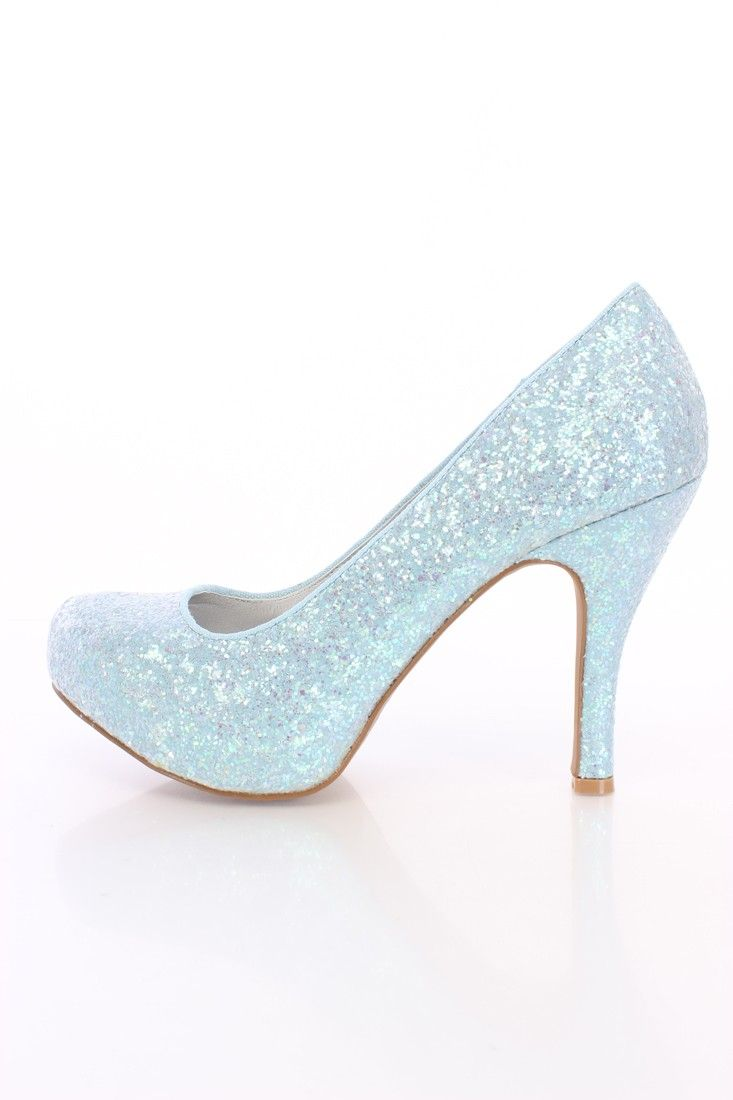 Baby Blue Heels For Women