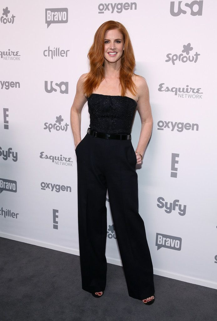 Sarah Rafferty - 2015 NBCUniversal Cable Entertainment Upfronts