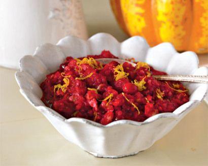 Katie Lee's Apple-Orange-Cranberry Relish