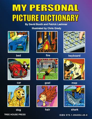 My Personal Picture Dictionary - a handbook for young author to help them develop their own personalized dictionary, thesaurus, and reference book.