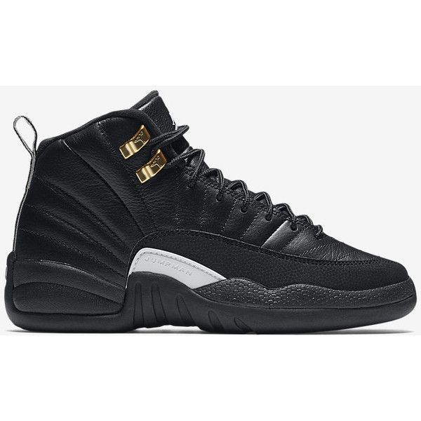 Air Jordan Retro 12 (3.5y-7y) Kids' Shoe . Nike.com ($140) ❤ liked on Polyvore featuring shoes and jordans