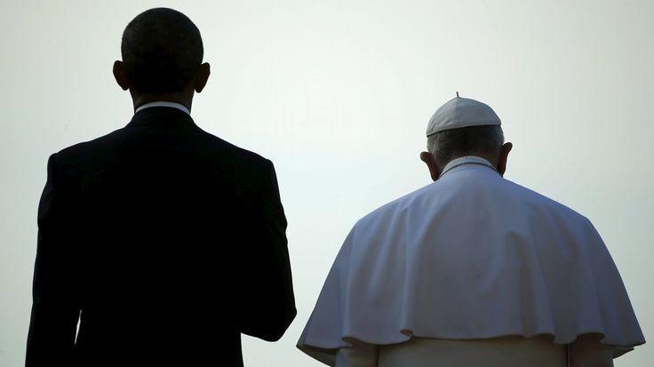 Barack Obama y el papa Francisco en la Casa Blanca en Washington. 23 de septiembre.