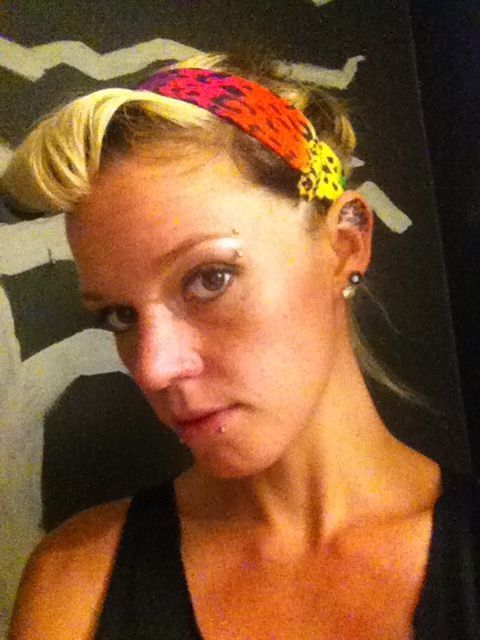 Guess this is hair art lol rockabilly style lol