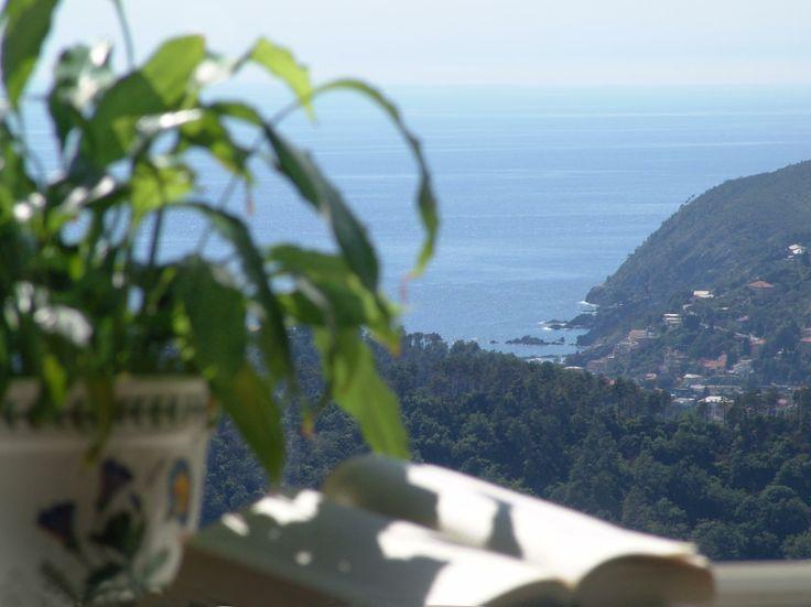 The view from our accommodation #Liguria. Unique! www.beautifuliguria.com