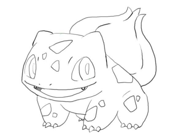 How to draw Pokemon 02