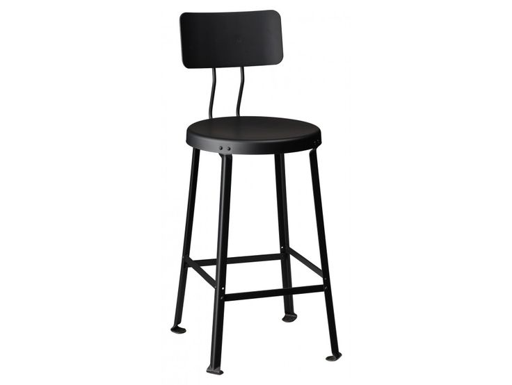 One Ton Stool with Back - 24  H ...  sc 1 st  Pinterest & 449 best Bar Stools images on Pinterest | Bar stools Vintage ... islam-shia.org