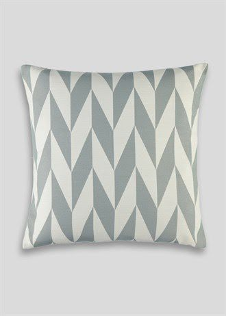 Geometric Jacquard Cushion (48cm x 48cm)