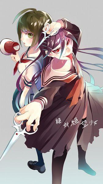 Dangan Ronpa Another Episode - Kowaru Naegi and Genocider Syo/Jill