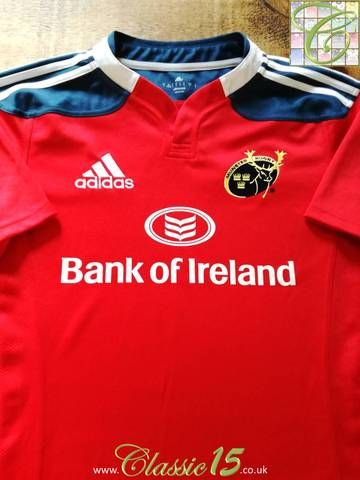 2013 14 munster home rugby shirt s just arrived in store pinterest