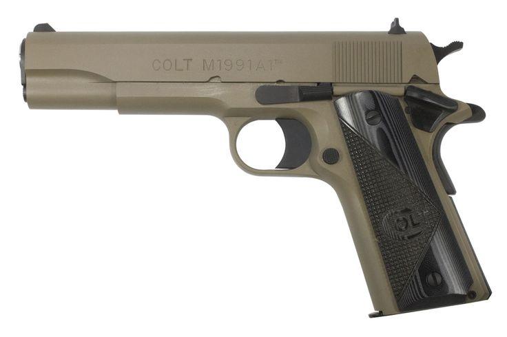 Colt M1911-A1 .45 ACP FDE Talo Exclusive