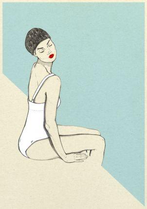Magdalena Pankiewicz Ilustration / Personal works / Summer