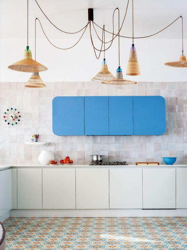 Ni2 blue and white kitchen cucina blu e bianca