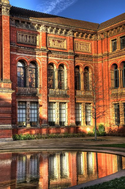 Victoria and Albert Museum Courtyard, London