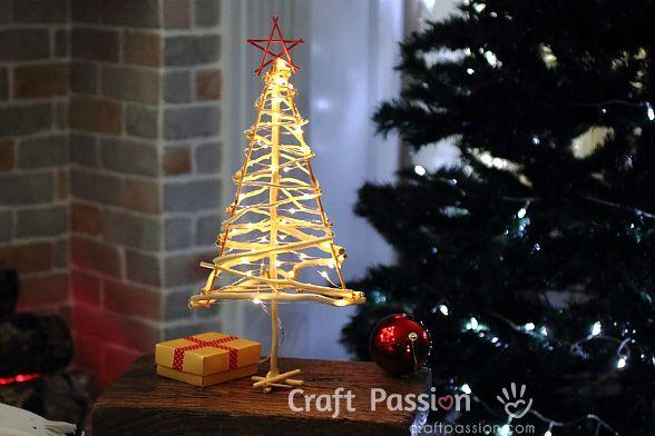 Make A Twiggy Christmas Tree