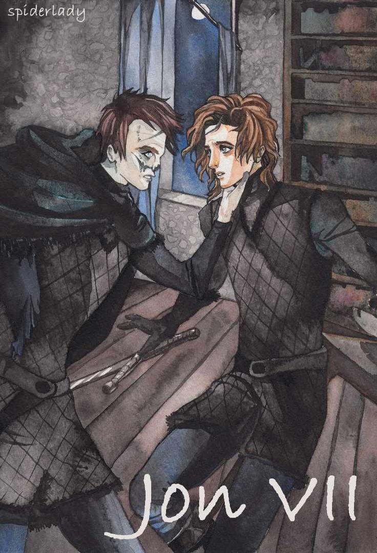 AGOT Jon VII banner - art by spiderlady