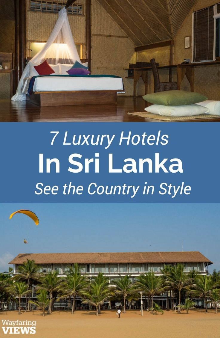 Staying at these seven best hotels in Sri Lanka will send you on a luxurious circuit of the country's finest wildilfe and cultural treasures.These luxury hotels, villas and boutique lodgings in Negombo, Kandy, Sigirya, Yala and Marissa offer comfort and great service