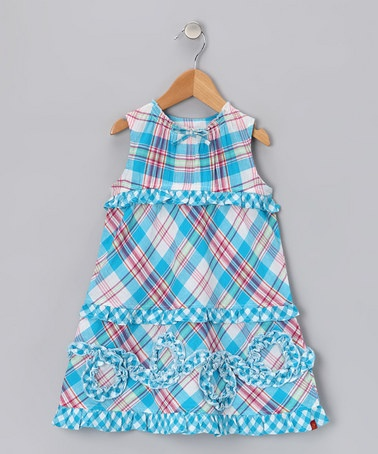 Blue Plaid Ruffle Dress: Le Fromag, Kids Stuff, Girls Generation, Toddlers Girls, Plaid Ruffles, Ruffles Dresses, Blue Plaid, Zulili Today, Kiddie Clothing