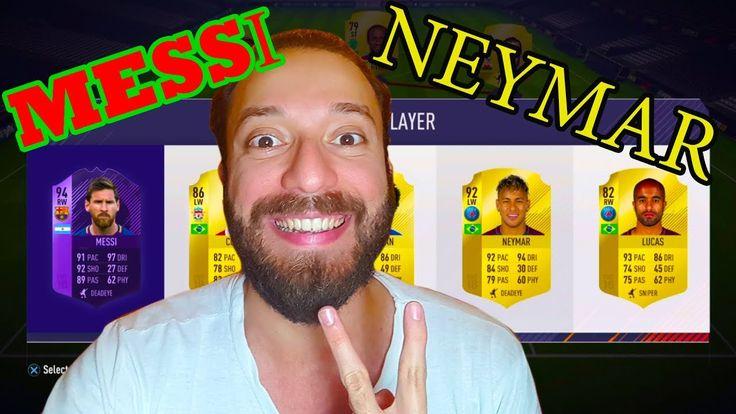 FIFA 18 Fut Draft Challenge   Messi Neymar