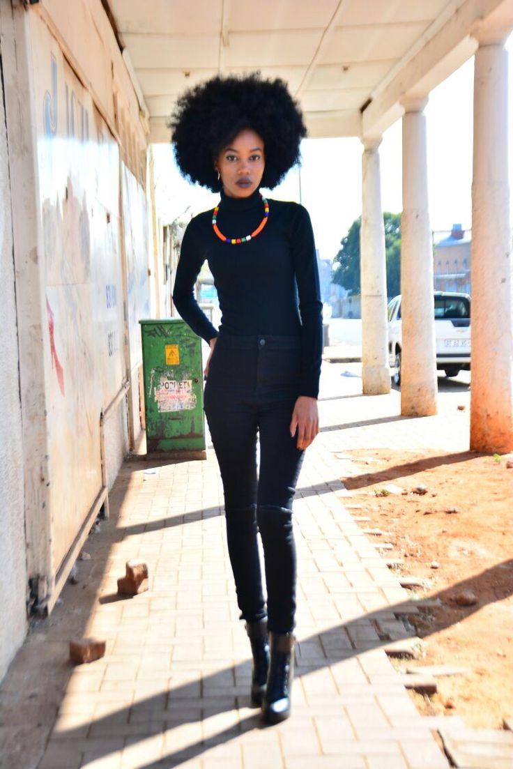 #allblack #streetwear #africanfashion #afro #afropunk #kinkyhair