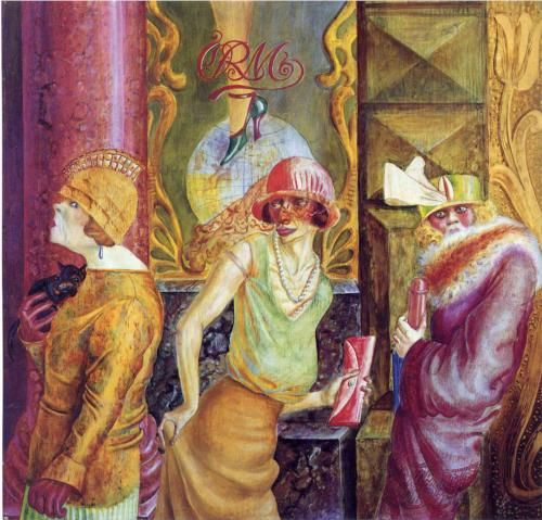 Three Prostitutes on the Street - Otto Dix  1925
