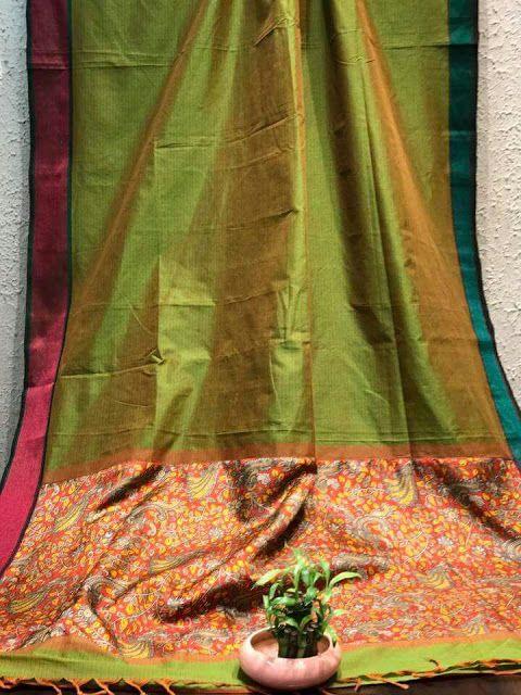 Exclusive Kalamkari silk sarees | Online sarees collection | Elegant Fashion Wear