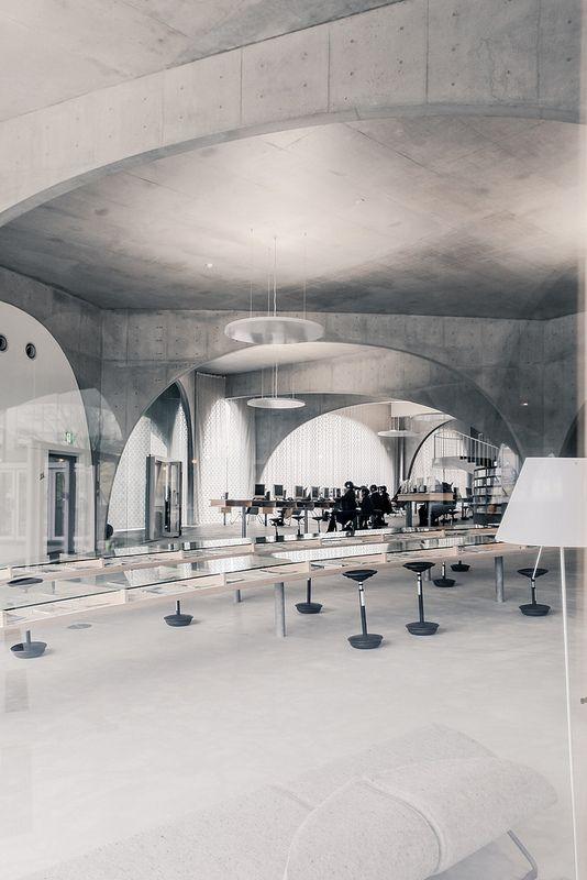 Tama Art University Library - Toyo Ito   by Scott Norsworthy