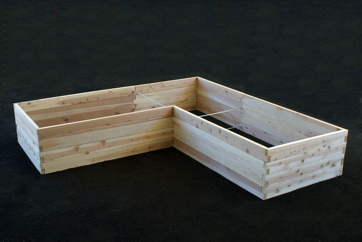 Naturalyards - L-Shaped Raised Beds, $525.86 (http://www.naturalyards.com/raisedbeds/l-shaped)