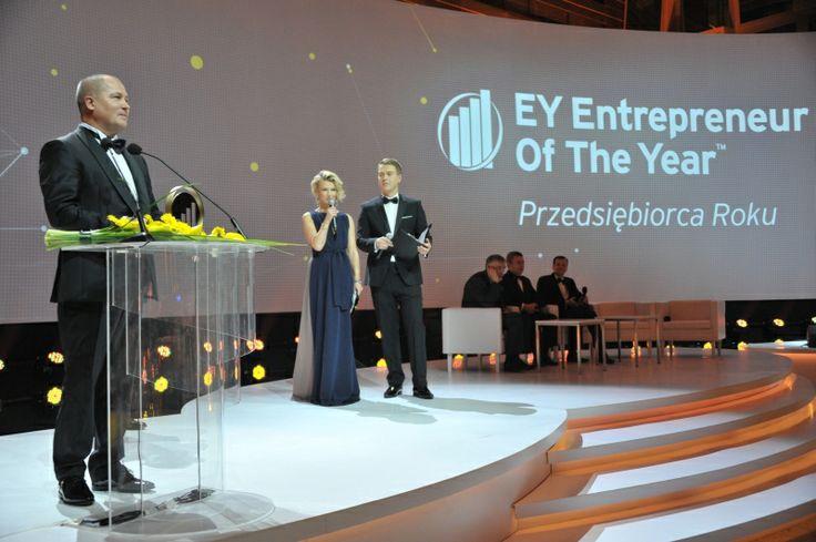 Andrzej Wiśniowski - zwycięzca 11. polskiej edycji Konkursu EY Przedsiębiorca Roku