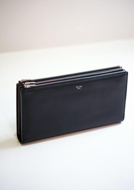 Celine triple-zip clutch | I \u0026lt;3 bags | Pinterest | Celine ...