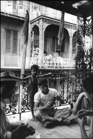 NEW ORLEANS—A Cajun family near the French market, 1947.  © Henri Cartier-Bresson / Magnum Photos(c) Magnum Photos