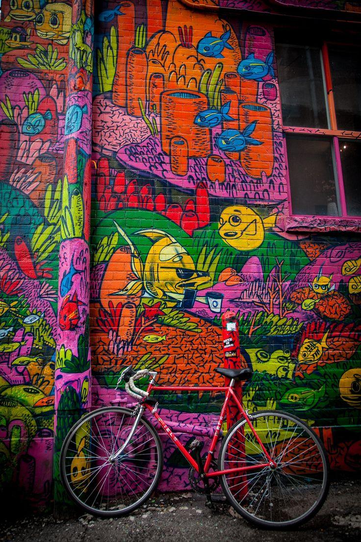 Graffiti Alley - Toronto, Ontario, Canada