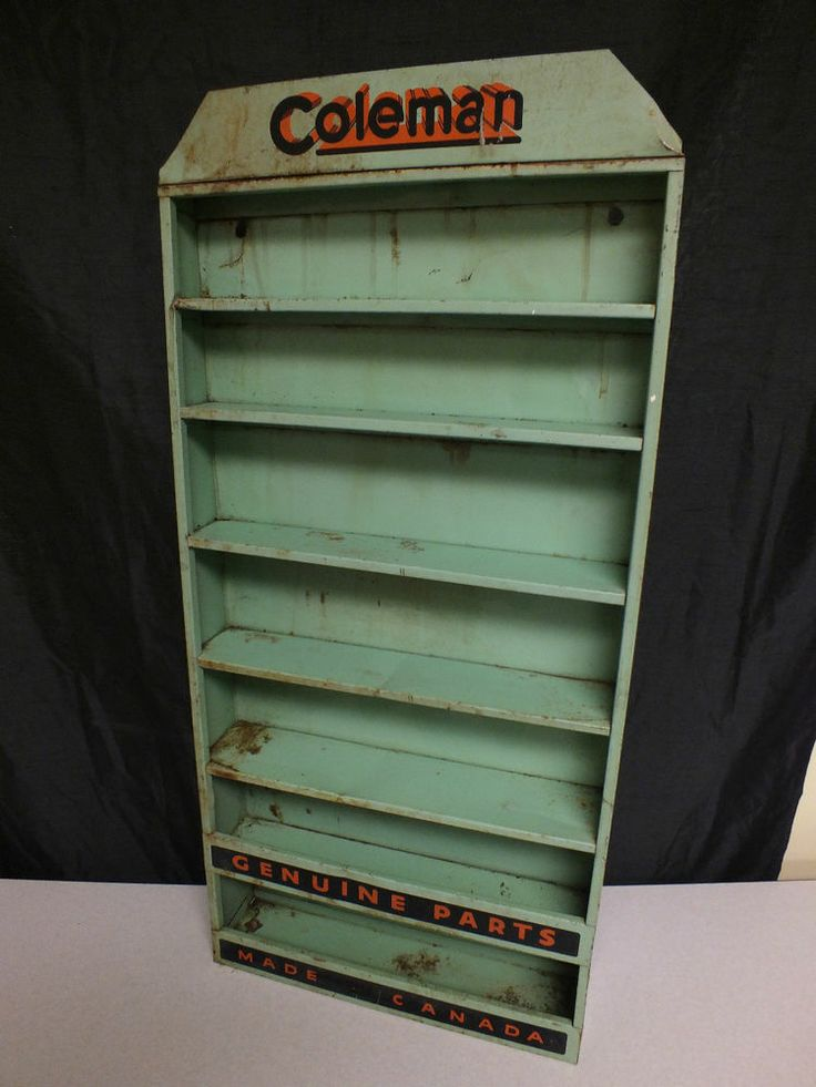 Antique Vintage Coleman Lantern Camp Stove Store Display