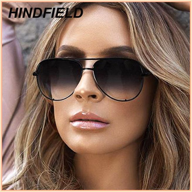 7c50988a9d Fashion Pilot Sunglasses Women 2018 Brand Designer Luxury Aviator Mirror  Sun Glasses High Quality Lady Shades Lunette Femme