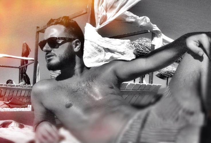 Summer Mood #men#fashion#sun#tan#hot model Andreas Triandafyllakos