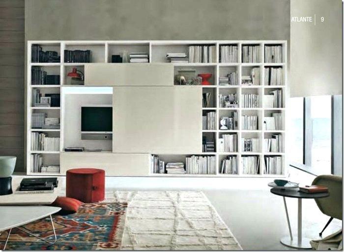 Bookcase Sliding Tv Free Standing Wall Unit Shelving Units Mounts Bookshelf Panel To Hide