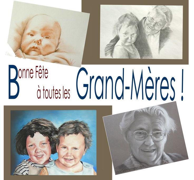 Le 6 mars c'est la fête des grand-mères, alors bonne fête à toutes les mamies, les mémés, les mamounettes...