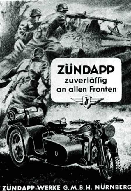 Zundapp Motorcycles Nurberg