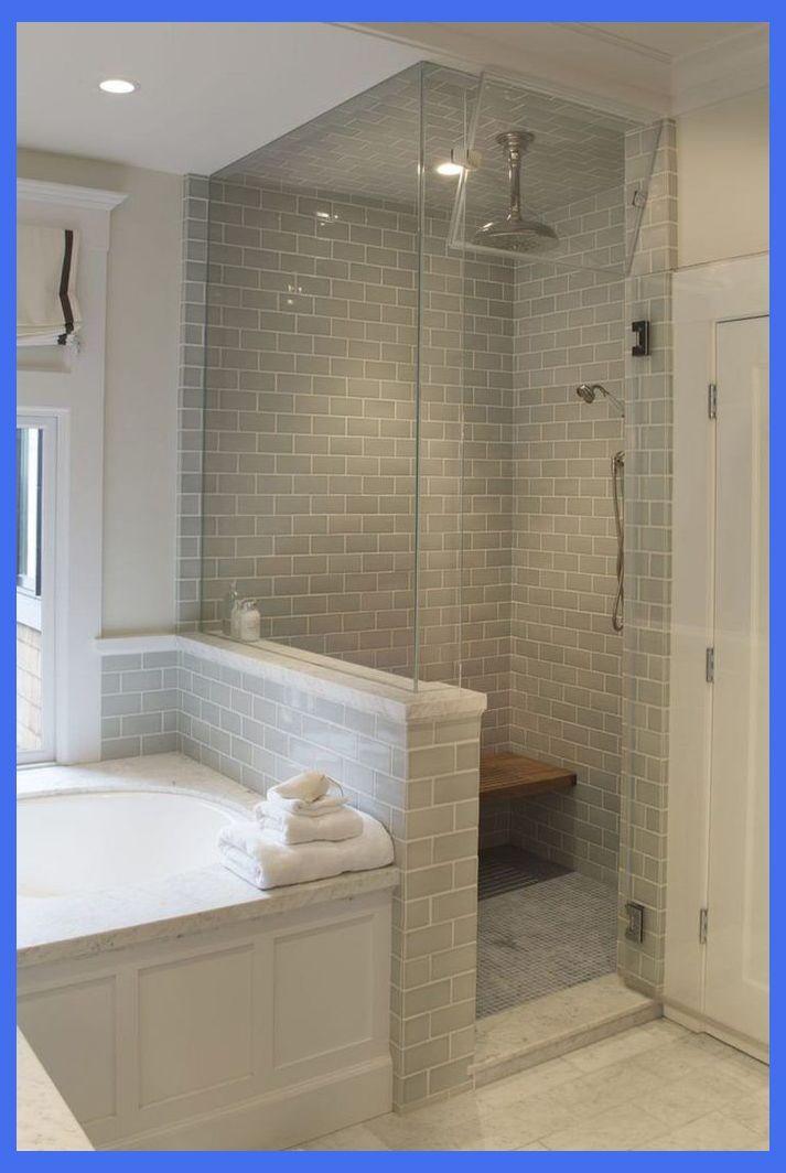 30 Incredible Small Master Bathroom Remodel Ideas Decoratioon Com Small Master Bathrooms Small Shower Remodel Bathroom Remodel Shower Shower Remodel