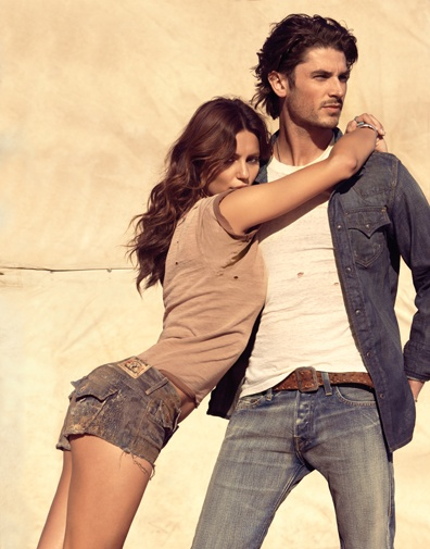 The Spring Summer 2013 campaign featuring Catrinel Menghia and Tom James