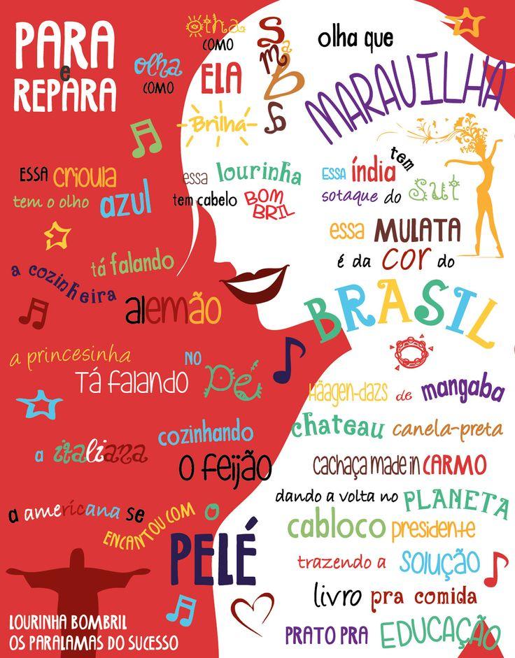Lyrics of the song Lourinha Bombril by Os Paralamas do Sucesso. Art by Heyimlaila.