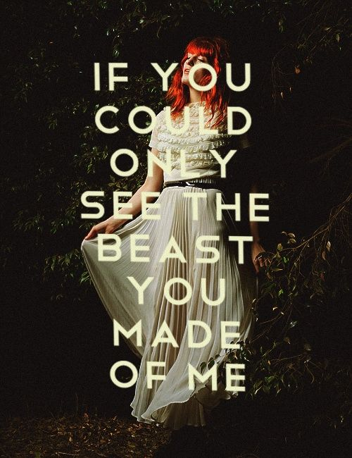 Howl // Florence + The Machine lyrics