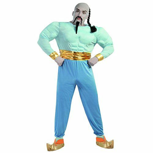 Vestito blu notte uomo preistorico
