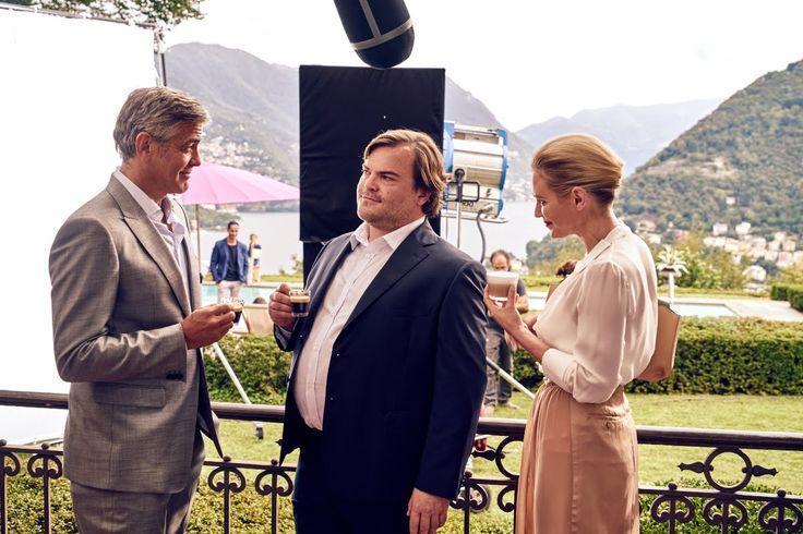 George Clooney et Jack Black pour Nespresso. #pub