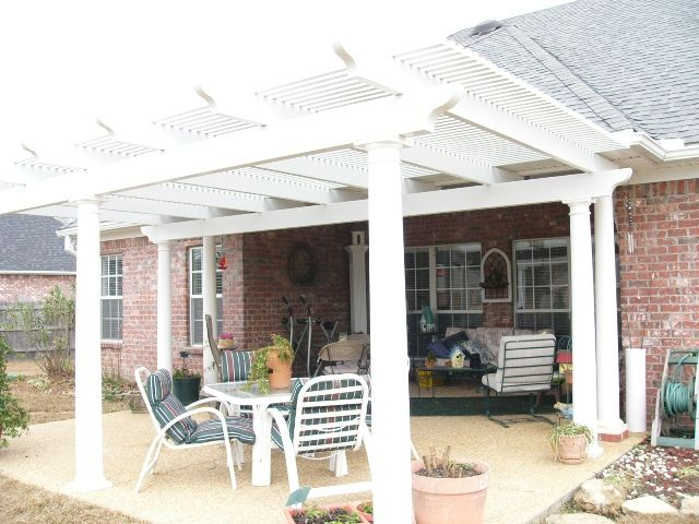 Pictures Of Pergolas Attached To House Ultra Lattice