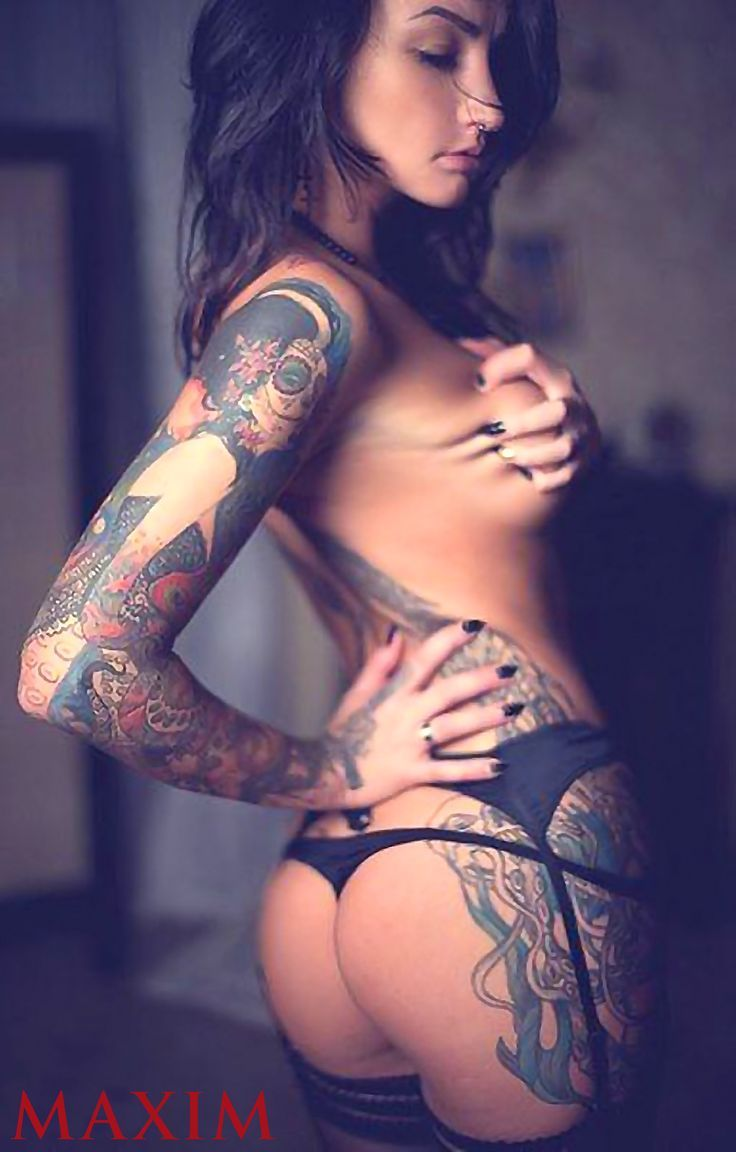 AGGRESSIVE BOOB GRAB! INKED SPORTY DREAM BODY of sexy Tattooed #Fitness model Angelica Anderson: Health, Exercise & #Fitspo - the best #Inspirational & #Motivational Pins by: http://cagecult.com/mma
