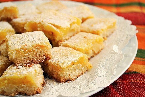 Deen Lemon Bar Recipe The High Heeled Hostess: The BEST Lemon Bar ...