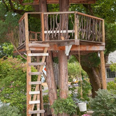 Simple Tree House Ideas For Kids